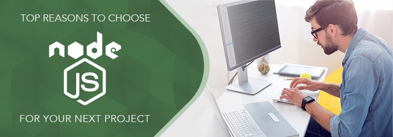choose nodejs for web application development project feature image
